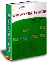 Windows HTML To WORD screenshot